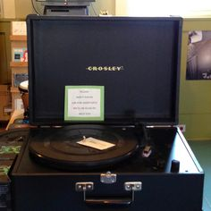 "Hey, kids!  It's called a ""record player!"". $179.00 at Central Square Records."