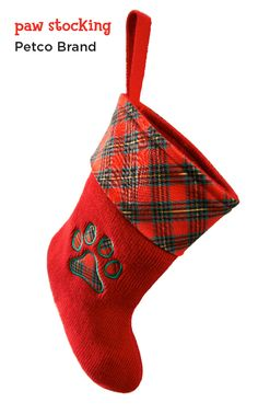 Stuff a special stocking for your fave couch companion.