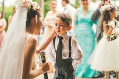 Junebug's Top 10 Cutest, Sweetest and Most Hilarious Ring Bearers | Photo by: Sam Hurd Photography