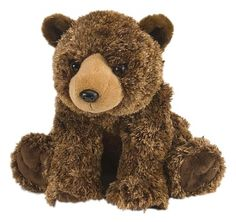 Cuddlekins Brown Bear (12-inch) at theBIGzoo.com, an animal-themed superstore.