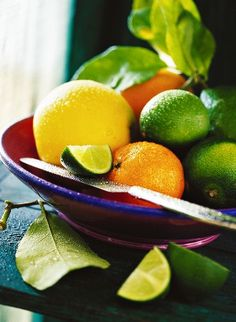 citrus fruits in a bowl ***
