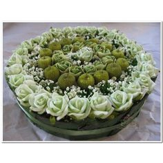 Bloementaarten foambloemen on pinterest oasis rose cake and vans - Deco ingang buitenkant ...