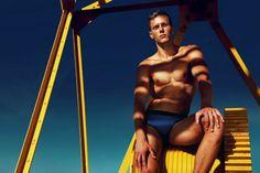 Ivan Markioli Wears ST33LE Swimwear Campaign by Igor Cvoro #IvanMarkioli #ST33LE #Swimwear #IgorCvoro