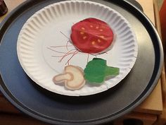 Paper Plate Pizza