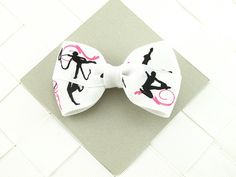 Rhythmic Gymnastic Hair Bows for Girls / by OneofEverythingBows, $2.75