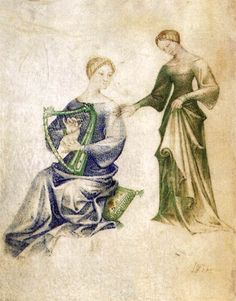 Model Book  1390s  Manuscript (Ms. VII. 14), 260 x 185 mm  Biblioteca Civica, Bergamo