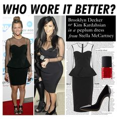 """Who Wore It Better: Brooklyn Decker or Kim Kardashian"" by polyvore-editorial ❤ liked on Polyvore"