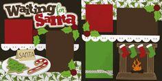 Waiting On Santa Page Kit