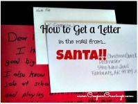 How to get a #letter in the #usps from #santa before #christmas #free couponcravings.co...