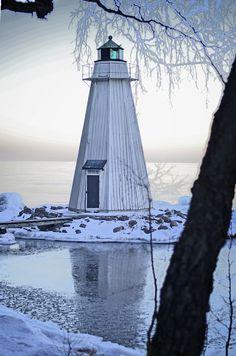 Karlsborg Lighthouse~Karlsborg~ Sweden