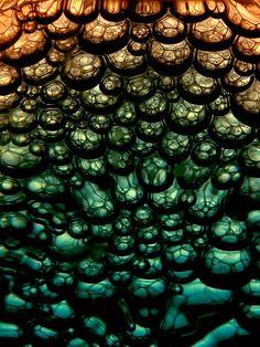bubbles in dish soap