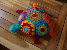 Miss T. the turtle crochet pattern $3.00