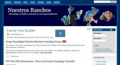 Nuestros Ranchos - Genealogy of Jalisco, Zacatecas, and Aguascalientes.