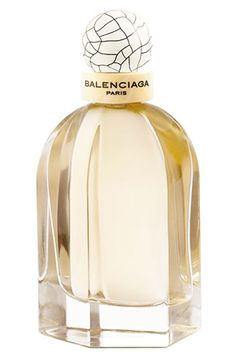 Balenciaga Paris Eau de Parfum - A lovely paradox. A demure violet with airy blossom and delicate peppery notes. A fragrance that is mysterious and fragile, yet leaves a lasting trail.    Scent notes: pepper, violet leaves, violet, cedarwood, patchouli, vetiver.