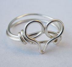 Custom Size Heart Ring