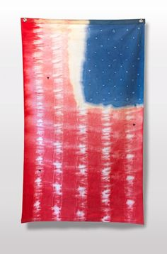 tie-dye flag
