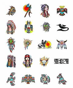 Image detail for -native american tattoos art