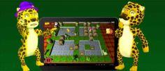 Animals Together Un juego con 100 niveles de puzles en el que hay que juntar parejas de animales en peligro de extinción.