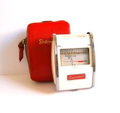 Vintage 1950s Gossen Sixtomat light meter made in by spacejam