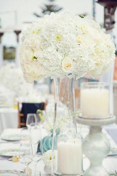 Daily Wedding Inspiration: Sophisticated Wedding Reception Ideas. http://www.modwedding.com/2014/02/02/sophisticated-wedding-reception-ideas/ #wedding #weddings #reception #centerpieces #bouquets