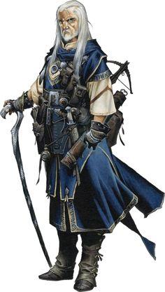 Wizard - Pathfinder RPG...#fantasy #wizard #magic #art