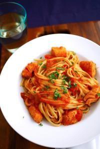 Recipe for Baccalà Tomato Sauce with Linguine | DeLallo Recipes