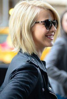 Julianne Hough - angled bob. great haircut