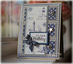 Card by Andrea Ewen using Chevron Love from Verve.  #vervestamps