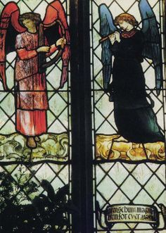 William Morris - stained glass angels
