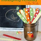 Thanksgiving Pictionary Game For Kids - great idea! #HolidayIdeaExchange