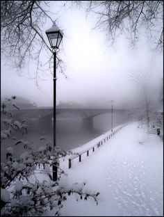 Paris in the fog....