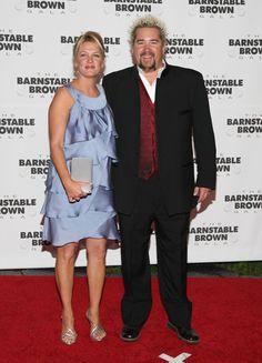 Guy Fieri and Lori Fieri at The 135th Kentucky Derby