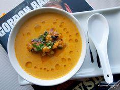Zupa szafranowa z kalafiorem Gordona Ramsaya