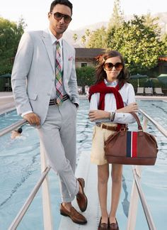Seersucker suit, plaid tie, white shirt, brown shoes. That dude looks dope as hell. #men #fashion #style