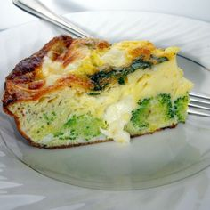 Broccoli, Sun-Dried Tomato & Mozzarella Frittata