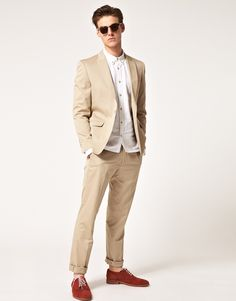 Vito - Light Sand Suit