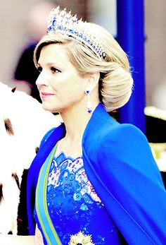Queen Maxima of the Netherlands - her hair!