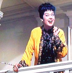 The first glimpse of Mame in Auntie Mame, one of my all time favorite films..