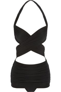 Norma Kamali vintage bathing suit - in LOVE with this bathing suit!