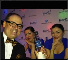 Announcing the winner of our #Hangar1Vodka Photo Contest at the Manhattan Cocktail Classic Gala: Michael Rodriguez. Congratulations on winning a 1-hour cocktail lesson with a top bartender!