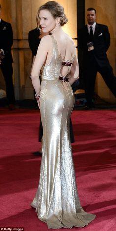 Renee Zellweger - Carolina Herrera -2013 Oscar Awards