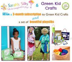 Fun Green Kid and Sarah's Silks Giveaway!