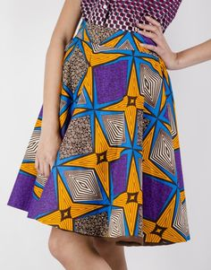 Limited Edition by Ajepomaa Designs  #Moonlook #AfricanFashion #Skirts #JupeWax #JupePagne www.moon-look.com