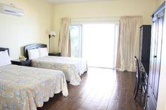 Sivananda Ashram Yoga Retreat: Beachfront View Double with A/C & private bathroom