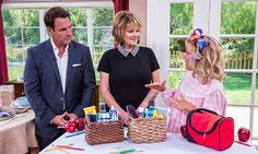 Home & Family - Getting Your Kids Off to School with Kym Douglas has an organized system in place to get your kids out the door in time to catch the schoolbus each morning. She suggests prepping lunches and setting the breakfast nook the night before. Plan an entire week's worth of outfits ahead of time and arrange each family member's toiletries in a basket to be ready for their morning routine.