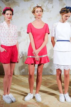 Nonoo Spring 2013 Ready-to-Wear Runway shift dress, 2013 readytowear, mishanonoo nyfw, readytowear runway, nonoo rs13, spring 2013, 2013 collect, nonoo spring