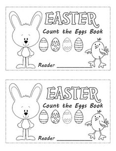 Easter Emergent Readers (2) Common Core Counting Book & activity mats with printable eggs for counting. Available in an emergent readers bundle as well...http://www.teacherspayteachers.com/Product/Emergent-Readers-Bundle-19-books-5-Class-books-10-sets-of-Activity-Mats