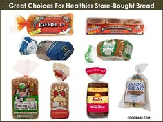 Find The Healthiest Bread On The Market -  Choose these and not these