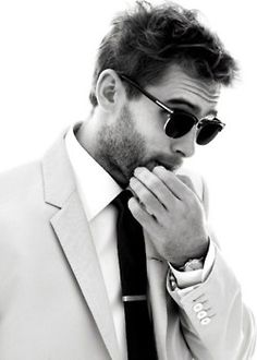 ray bans, men style, sunglass, ties, tie clips, men fashion, suit, beard, shade