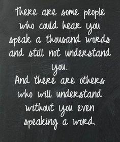 Miss unspoken understandings